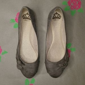 Fergalicious Sloane Ballet Flats Brown Size 10